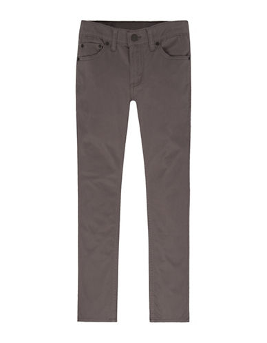 LeviS 511 Buttoned Suede Jeans-GREY-7