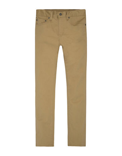 LeviS 511 Buttoned Suede Jeans-BEIGE-6