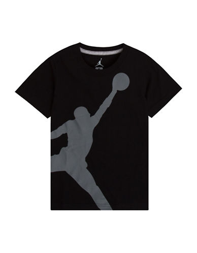 Jordan Jumbo Jumpman Tee-BLACK-Large
