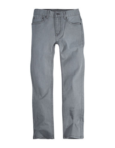 LeviS Pigment Dyed Denim Pants-GREY-18