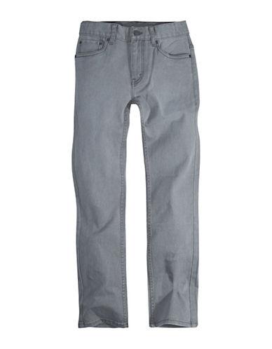 LeviS Pigment Dyed Denim Pants-GREY-6