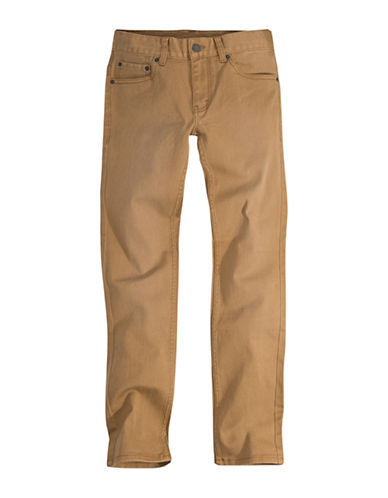 LeviS Pigment Dyed Denim Pants-BEIGE-4