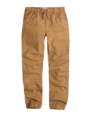 LeviS Ripstop Cotton Jogger Pants-BEIGE-5