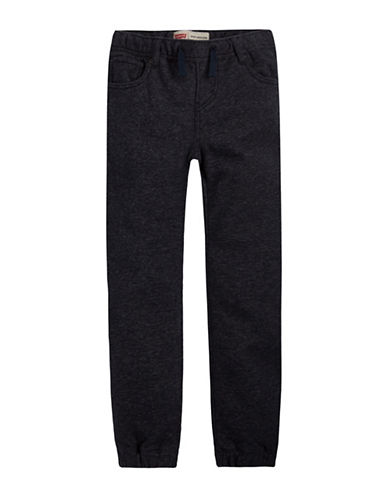 LeviS Knit Pull On Joggers-BLUE-Medium
