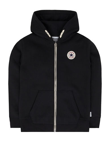 Converse Full-Zip Core Chuck Hoodie-BLACK-7