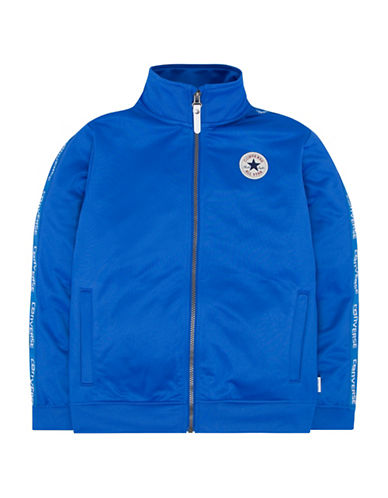 Converse Warmup Wordmark Jacket-BLUE-4