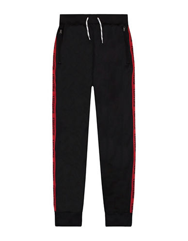 Converse Warmup Wordmark Jogger Pants-BLACK-5