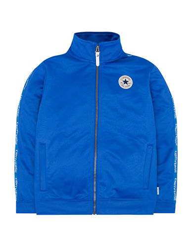 Converse Warmup Wordmark Jacket-BLUE-Small