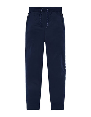 Converse Warmup Wordmark Jogger Pants-NAVY-X-Large