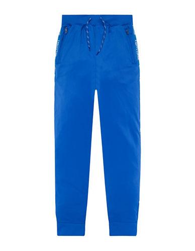 Converse Warmup Wordmark Jogger Pants-BLUE-Small