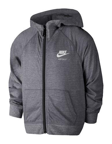 Nike Gym Vintage Hoodie-GREY-6X