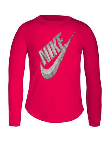 Nike Futura Modern Tee-PINK-4
