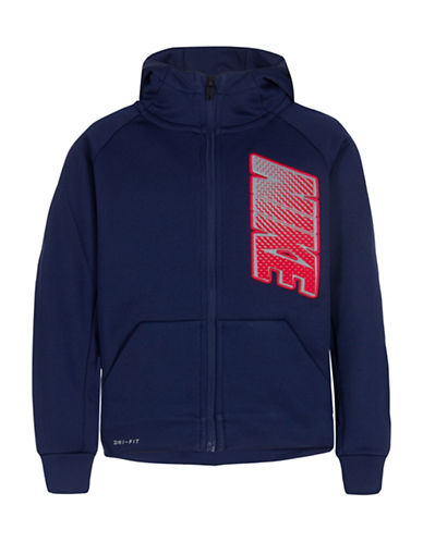 Nike Dri-Fit Therma Full Zip Hoodie-BLUE-6 89178940_BLUE_6