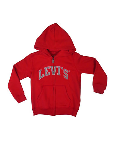 LeviS Icon Full-Zip Hoodie-RED-6
