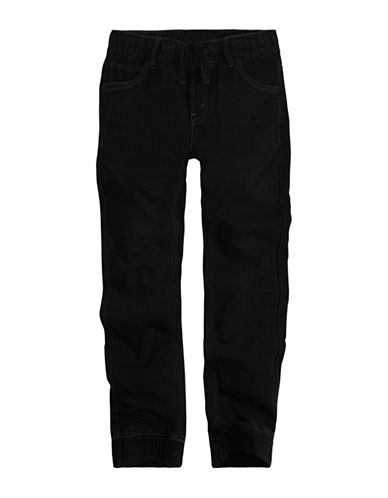 LeviS Knit Jogger Jeans-BLACK-Small