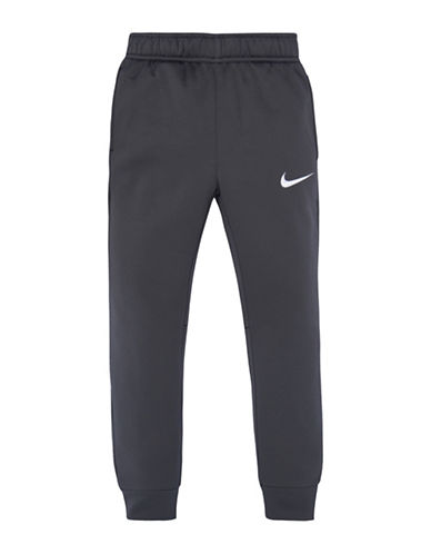 Nike Therma Fleece Core Joggers-GREY-4