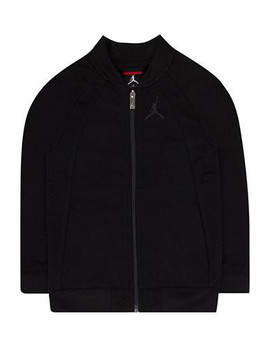 Jordan Wings Tricot Jacket-BLACK-Large