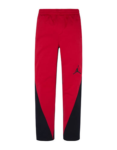 Jordan Therma-Fit Track Pants-RED-X-Large
