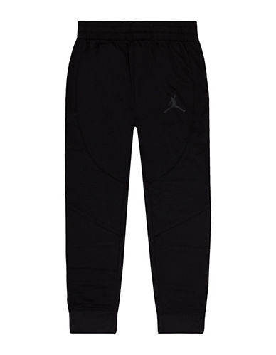 Jordan Wings Tricot Track Pants-BLACK-Small