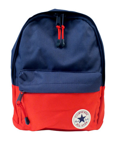 Converse Two-Toned Backpack-NAVY/RED-One Size