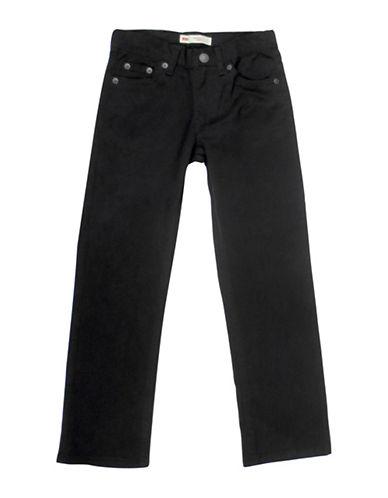 LeviS 511 Buttoned Suede Jeans-BLACK-4