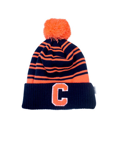 Converse Collegiate Knit Beanie-NAVY/ORANGE-4-6