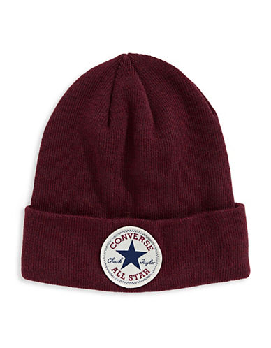 Converse Fisherman Beanie-RED-8-18