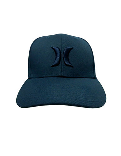 Hurley One and Only Flex Fit Cap-NAVY-8-18