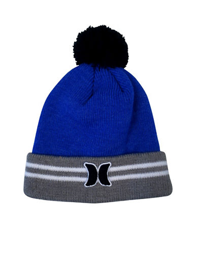 Hurley Icon Varsity Beanie-BLUE-8-20