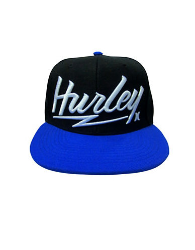 Hurley Free and Clear Snap Cap-ROYAL BLUE-8-18