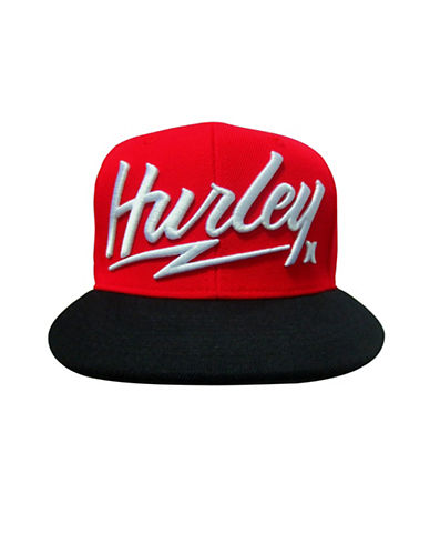 Hurley Free and Clear Snap Cap-RED HTR-8-18