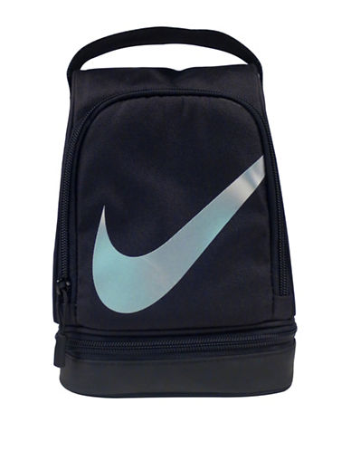 Nike Sublimation Lunch Tote-BLACK-One Size