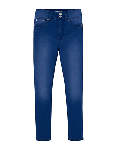 LeviS Skinny-Fit 710 High Rise Ankle Jeans-BLUE-10
