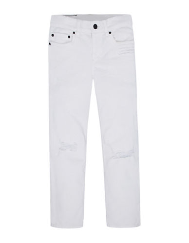 LeviS 511 Slim Destruction Jeans-WHITE-4