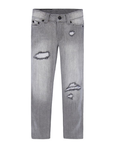 LeviS 511 Slim Destruction Jeans-GREY-5