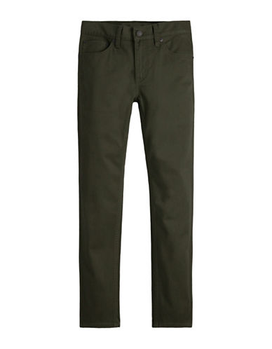 LeviS 511 Sueded Pants-GREEN-8