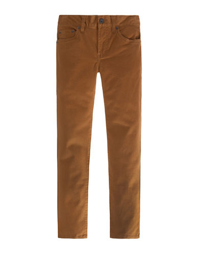 LeviS 511 Sueded Pants-BROWN-10