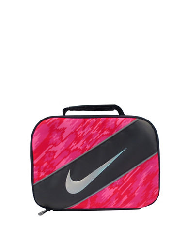 Nike Printed Lunch Tote-PINK-One Size