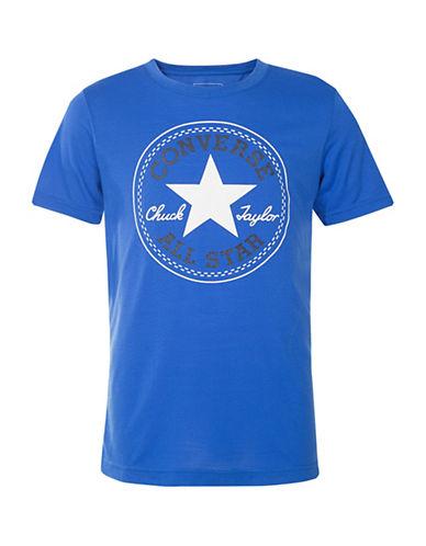 Converse Chuck Short Sleeve Tee-BLUE-5