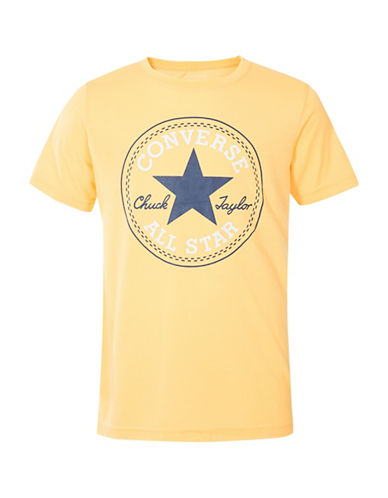 Converse Chuck Short Sleeve Tee-ORANGE-6