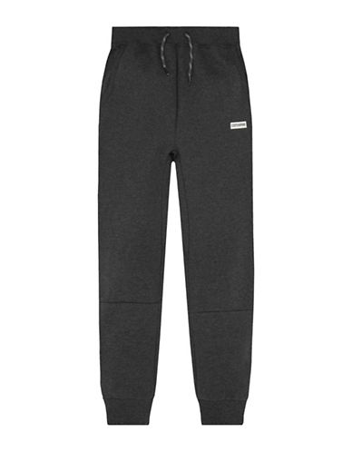 Converse Heavyweight Hybrid Fleece Jogger Pants-GREY-7