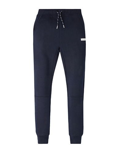 Converse Heavyweight Hybrid Fleece Jogger Pants-BLUE-7
