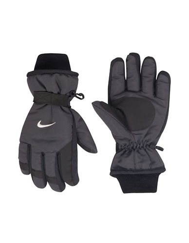 Nike Anthracite Snow Gloves-GREY-8-18