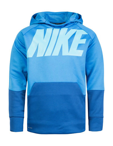 Nike Therma Block Pullover-BLUE-4
