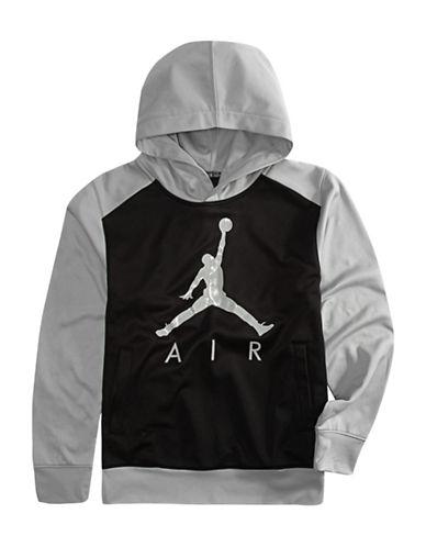Jordan Rise 23 Therma-FIT Pullover Hoodie-BLACK-Large 89640631_BLACK_Large