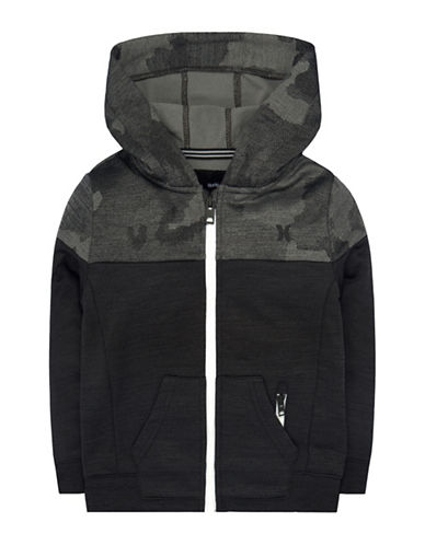 Hurley Camouflage Hoodie-BLACK-Medium