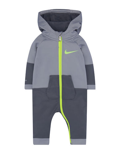Nike Oversized Dri-Fit Hooded Longall-GREY-6-9 Months