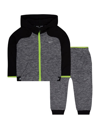 Nike Hoodie and Pants Set-GREY-12 Months