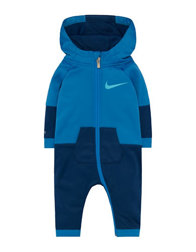 Nike Oversized Dri-Fit Hooded Longall-BLUE-9-12 Months