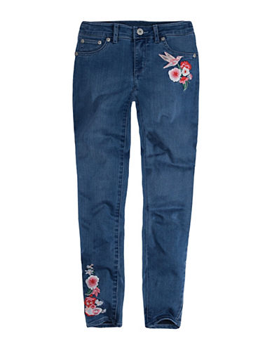 LeviS 710 Embroidered Jeans-BLUE-8